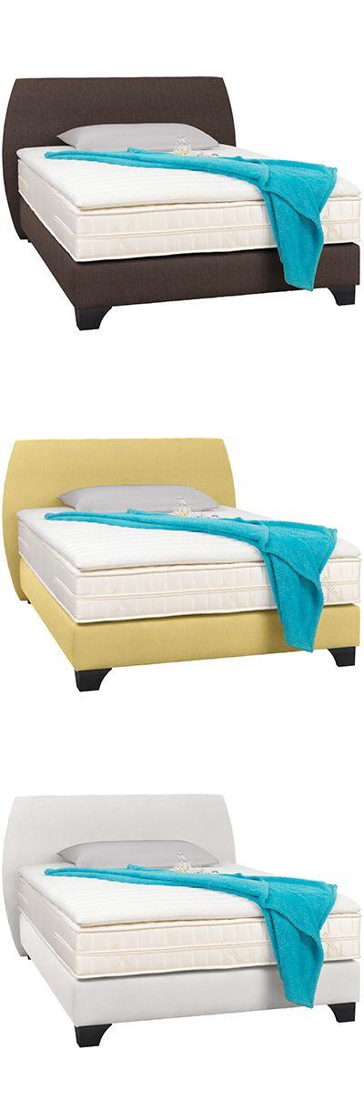 Boxspringbett Textil In Verscheidene Farben Boxspringbett Bett Box