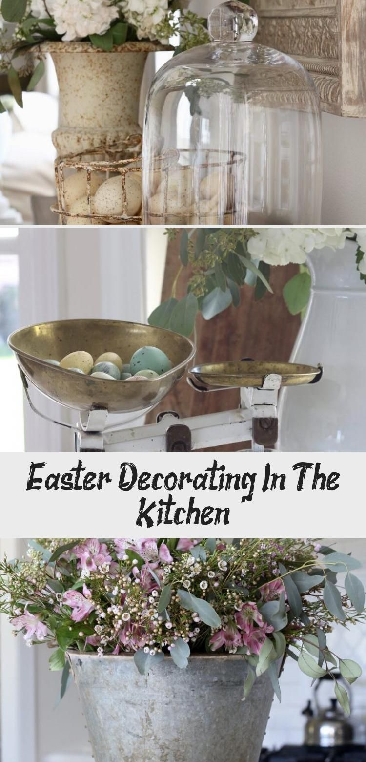 My Blog En Blog Pottery Barn Easter Kitchen Decor Grey Country Kitchen Decor