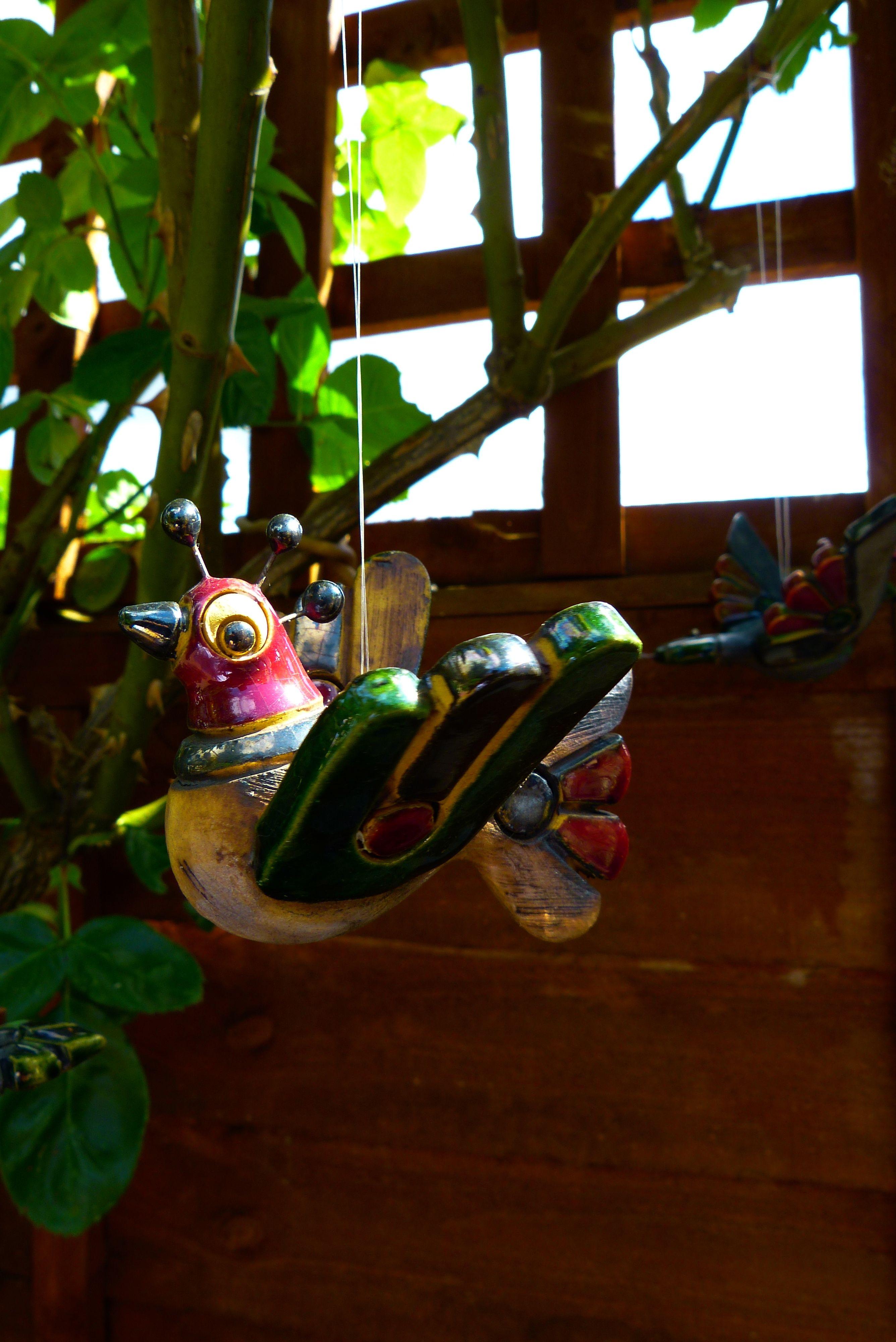 Window decor and more orange beach  bird ornament  my garden  pinterest  bird ornaments and gardens