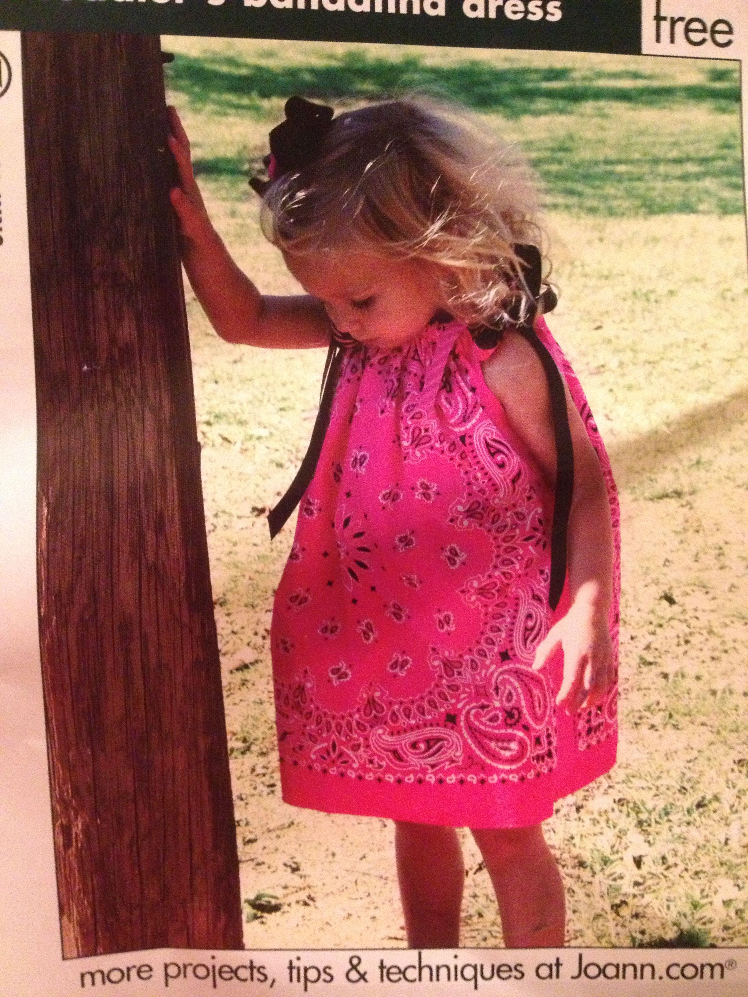 Bandana dress or shirt toddler dress bandana dress