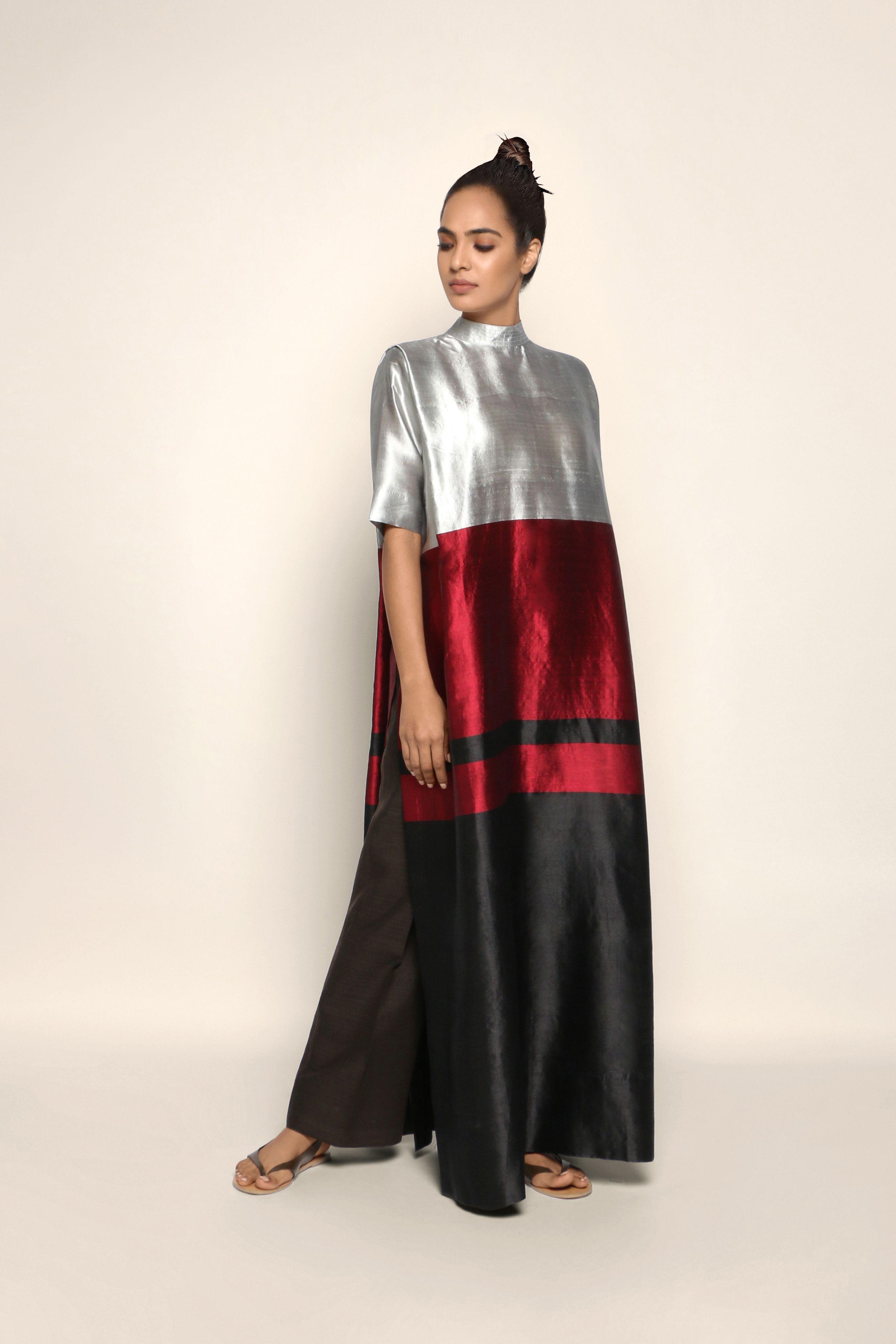 Handwoven Silk Kurta Fashion Attire Abayas Fashion Fashion Outfits