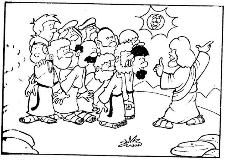 Dibujos para colorear cristianos - Dibujos cristianos | BIBLIA ...