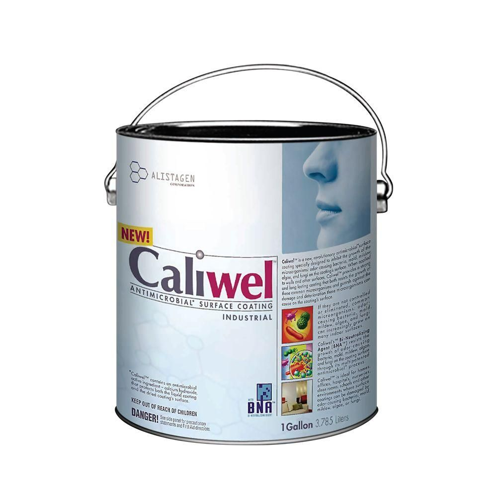 Caliwel Industrial 1 Gal Opaque Antimicrobial And Anti Mold Coating For Behind Walls And Basements 850856v The Home Depot Interior Paint Mold And Mildew Mold Remediation