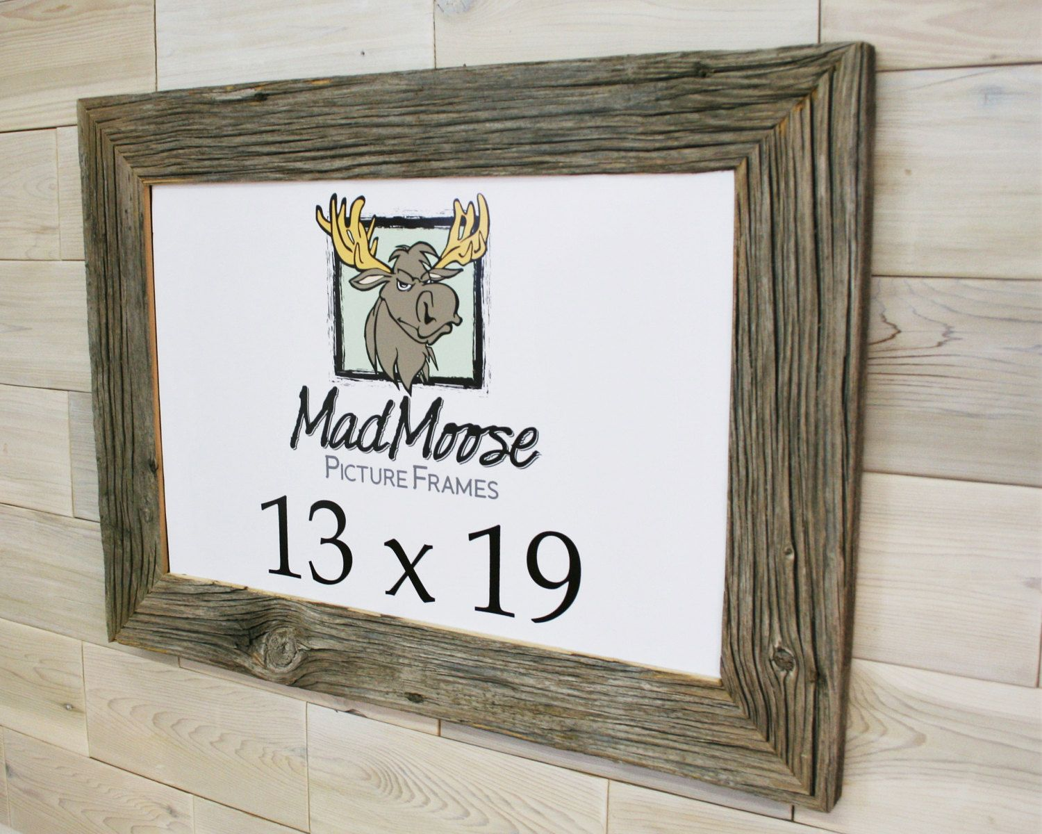 13x19 Barn Wood Chunky X 3 Picture Frame By Lunarcanyon Barn