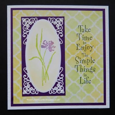 Sandma's Handmade Cards: Spring