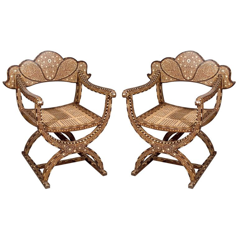 Moroccan Mashrabiya Chairs, Pair On OneKingsLane.com | Arabesque _  FFu0026E_Traditional | Pinterest | Moroccan, Moroccan Design And Furniture  Upholstery