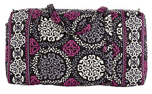 Women s Shoulder Bags - Vera Bradley Large Shoulder Duffel Bag Canterberry  Magenta   For more information c425ffea76c89