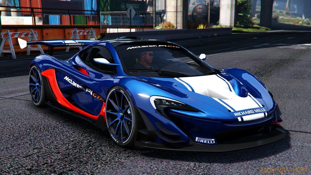 McLaren P1 GTR v1.1 for GTA 5 By Rmod Customs in 2020
