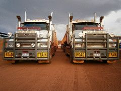 105 & 94. (RAYFOOT) Tags: mobile truck australia solutions mack mcs roadtrain concreting superliner newbreed