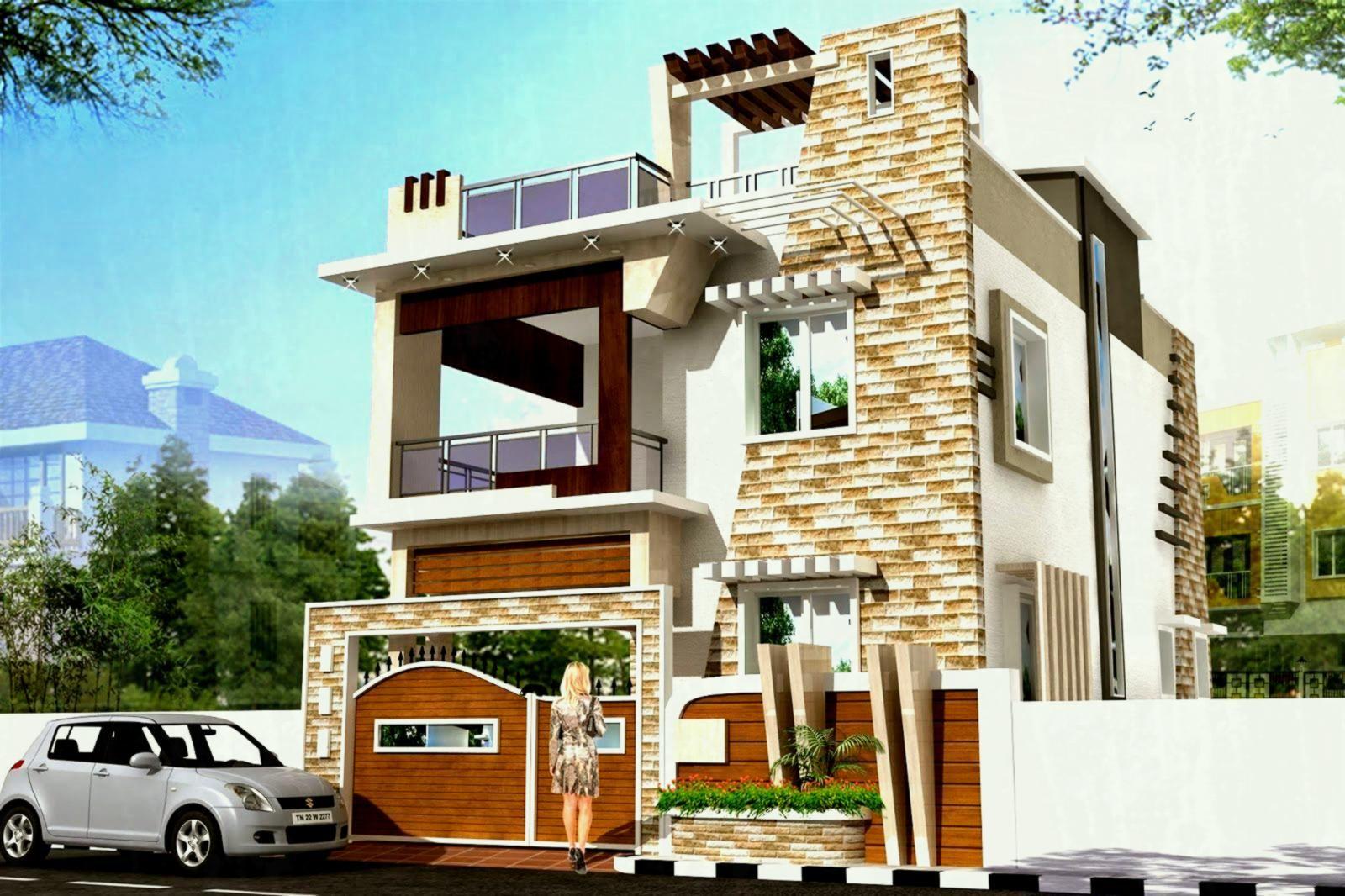 Image Result For Latest Building Exterior Design Of 30 40 Duplex