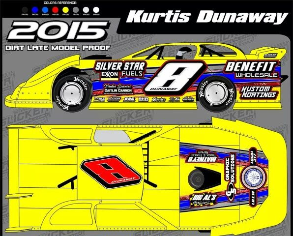Josh Dunaway Ride For 2015 Turner S House Of Speed Car Dirt Late Models Turner House Toy Car