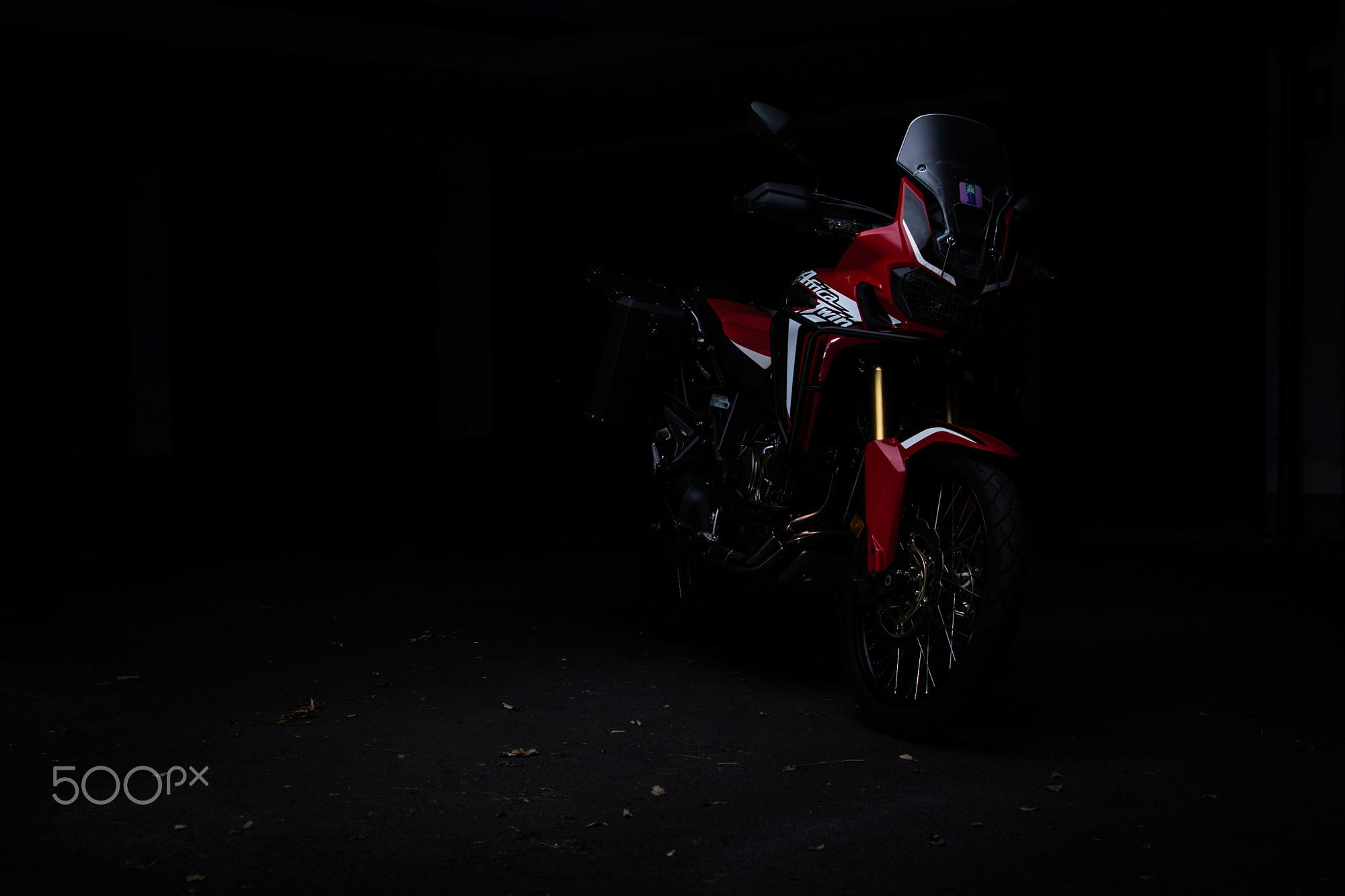 Hide And Seek Honda Africa Twin Hd Wallpaper From