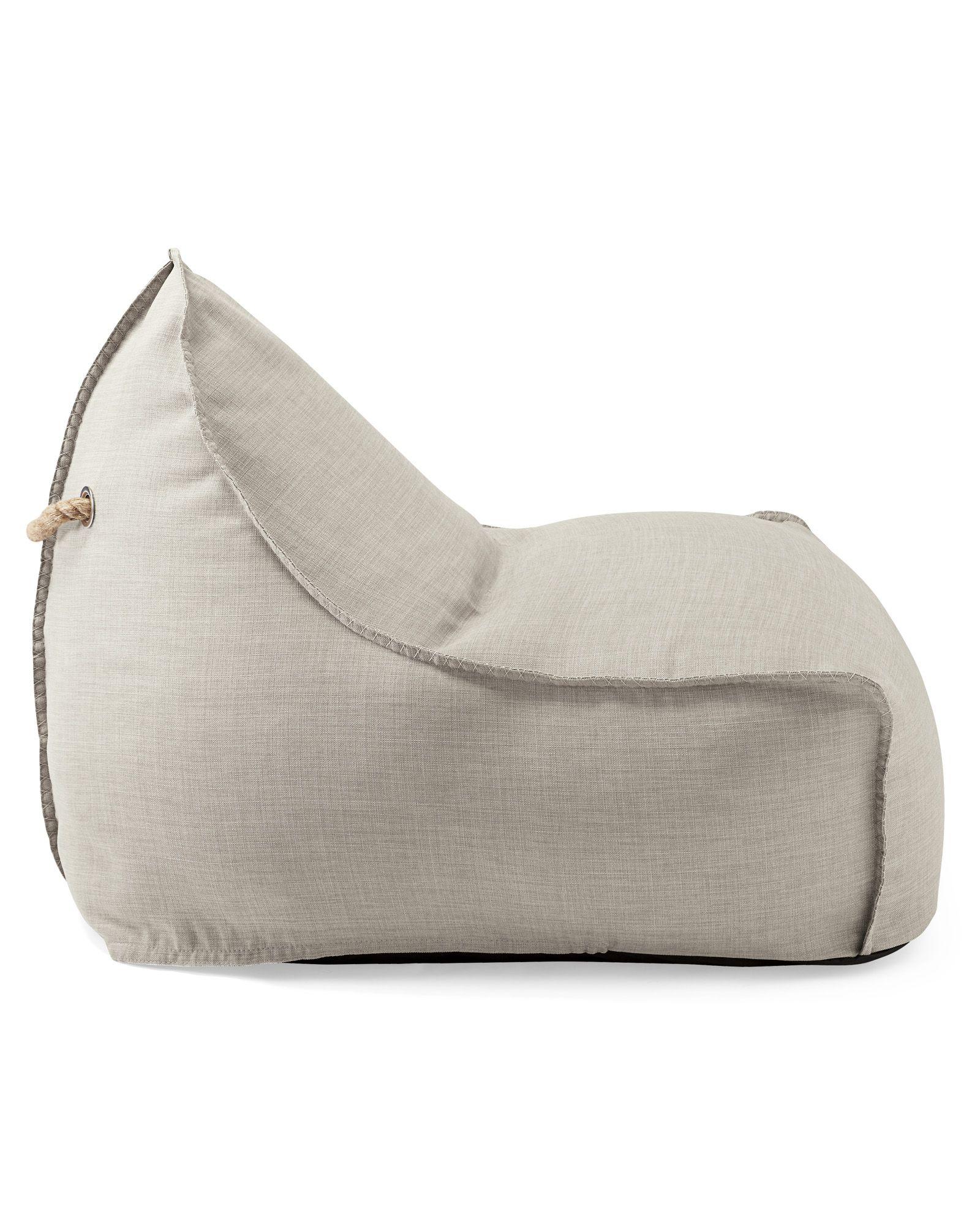 Newport Lounger Solid CH5120 Bean bag Leather bean