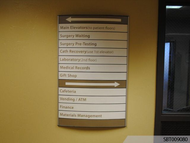 Custom Indoor Directory Signs Signs By Tomorrow Directory Signage Systems Directory Signs Directory Signage Signage System