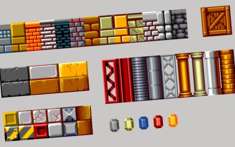 Free 8Bit Pixel Pack BitFreePixelEnvironments Pixel