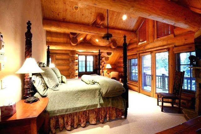 Decorating A Log Cabin Log Cabin Bedrooms Cabin Living Room