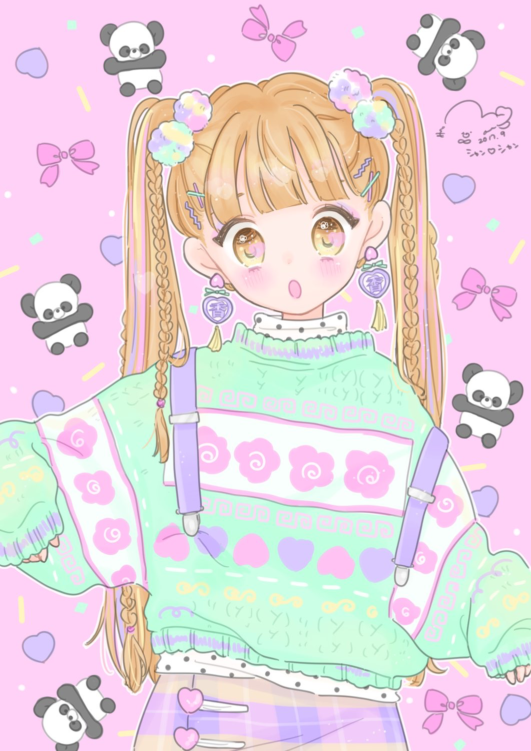 Cute Anime Girl Loli Cute Wallpapers Pin Von Mai💫 Auf Anime Girl Pastell In 2019