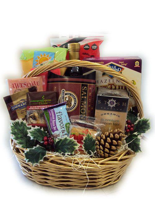 Heart-Healthy Christmas Gift Basket | Christmas Gift Baskets ...