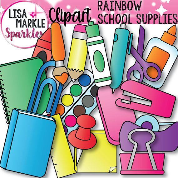 Back To School Clipart Pencil Illustrations Crayon Graphics Book