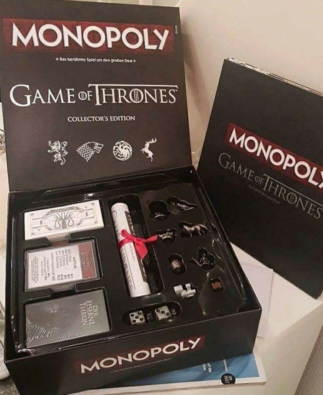 Monopoly And Game Of Thrones Combined Game Of Thrones Merchandise Game Of Thrones Gifts Game Of Thones