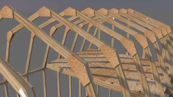 Shed Roof Framing Made Easy Barn Style Shed Shed Roof Building