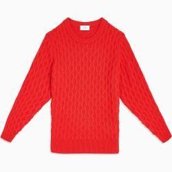 Photo of Calvin Klein cable-knit sweater in wool blend M Calvin KleinCalvin Klein
