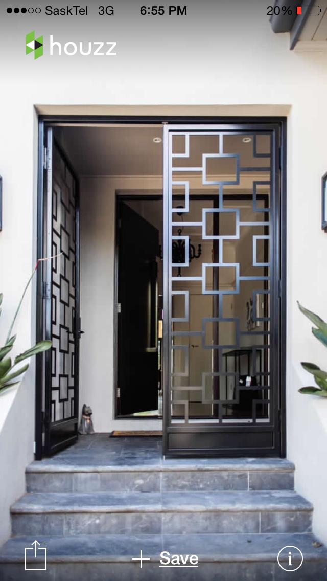 Pin By Straightchildobserve On Modern Doors Grill Door Design Window Grill Design Door Design