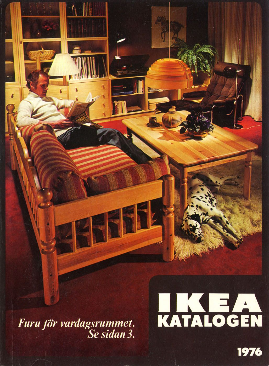 Pine For The Living Room IKEA 1976