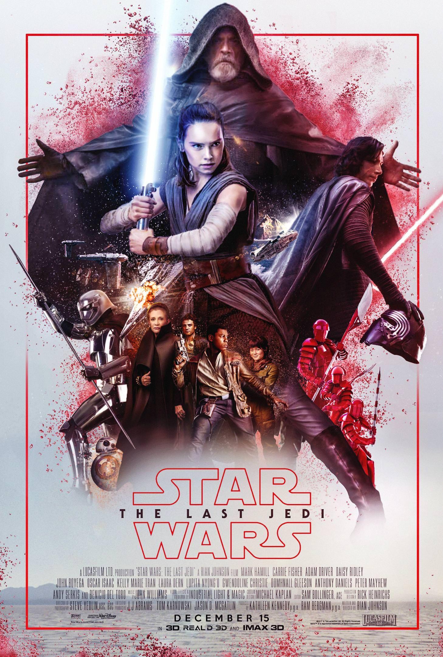 Star Wars Episode Viii The Last Jedi 2017 Hd Wallpaper From