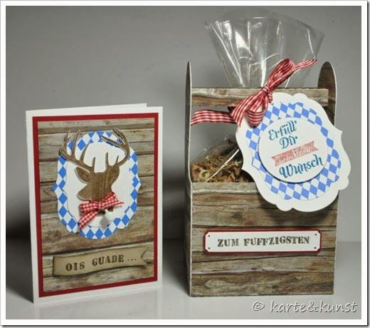 bayerisches geschenkset karte und kunst verpackungen pinterest bayerische geschenke. Black Bedroom Furniture Sets. Home Design Ideas