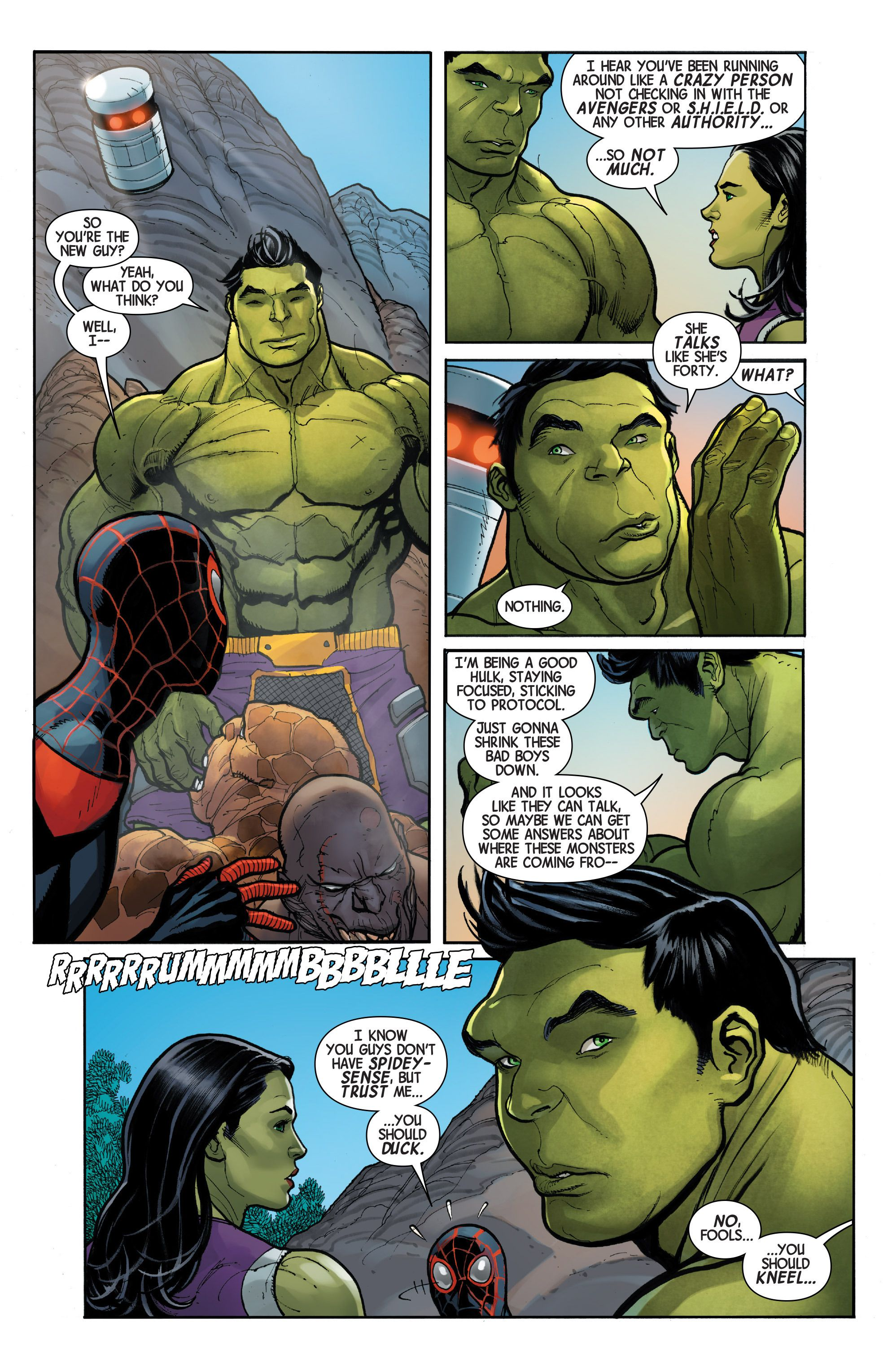 The totally awesome hulk 2016 1 page 28 comic book graphic novel the totally awesome hulk 2016 1 page 28 publicscrutiny Images