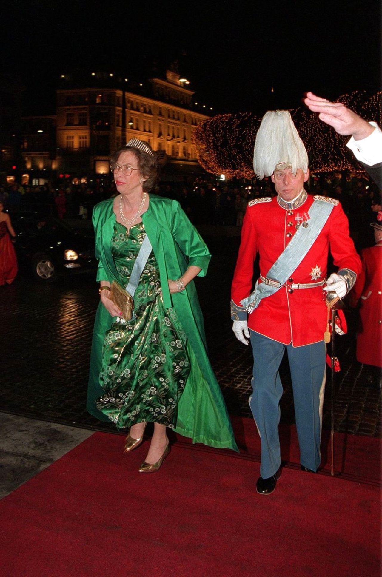 Princess Elisabeth wearing the Fringe tiara from Grand Duchess Anastasia Mikhailovna