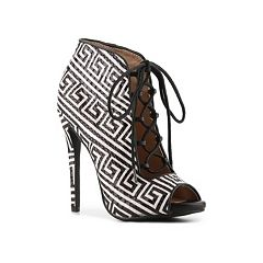 Boots Women Zigi Soho Martyr Pattern Platform Pump Black/White Provide
