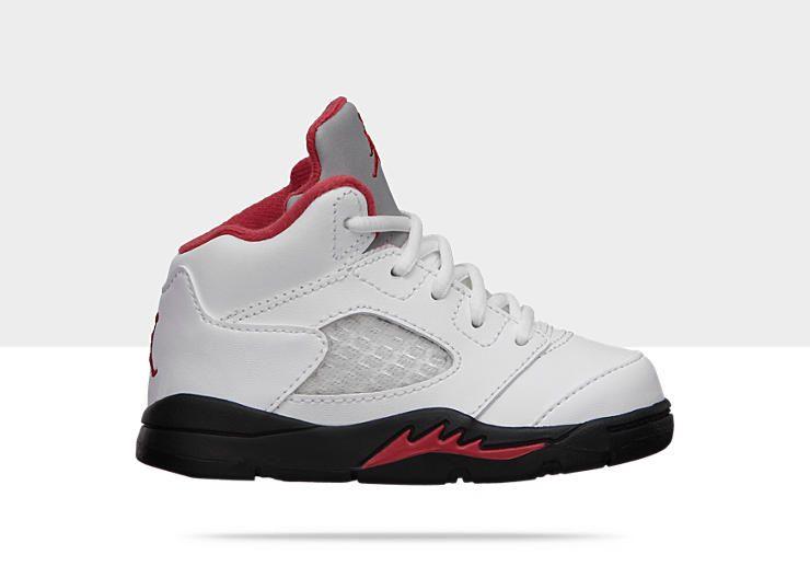 UN CLASSIQUE DU BASKET-BALL La chaussure Air Jordan 5 Retro pour Bébé/Très  petit garçon est conçue en cuir haute qualité et comporte une membrane  intérieure ...