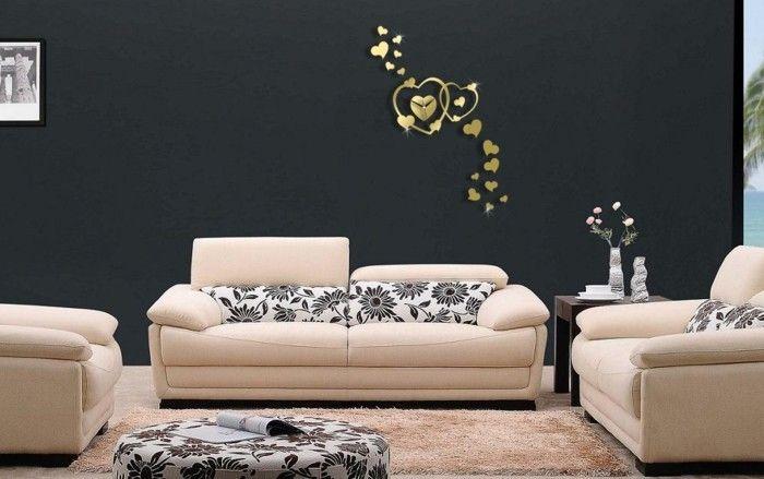 55 kreative Ideen für tolles modernes Wanduhr Design Dekoration - schöne wanduhren wohnzimmer