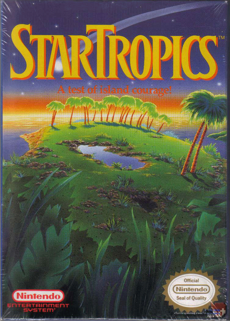 621779 Startropics Png 753 1052 Nintendo Nes Classic Video Games Nes Games