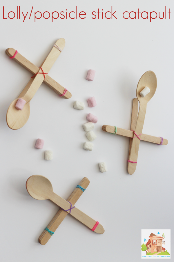 Catapult Craft For Kids