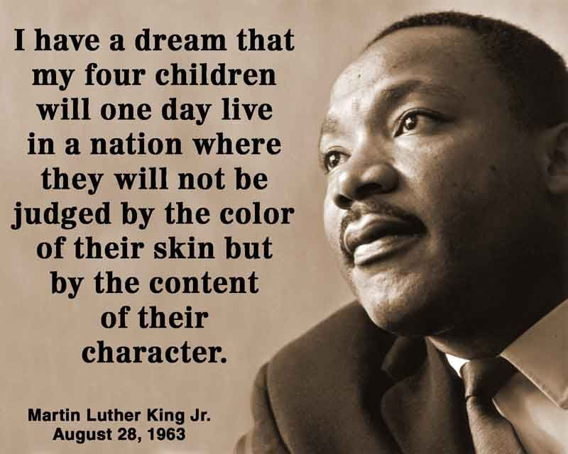 joseph reisert i have a dream speech called on us to fulfill when we celebrate martin luther king day on monday many of us will remember him first as a great preacher and a powerful speaker