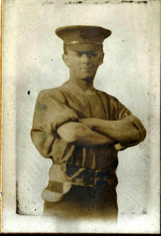My Great Uncle Walter. Killed in Flanders 1917.