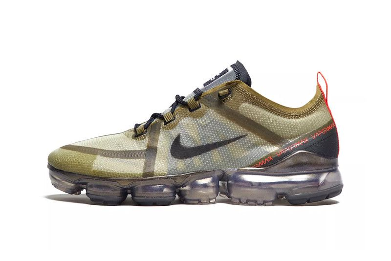 9bba52e40cc55 Nike Air VaporMax 2019 Arrives With Military-Inspired Olive Colorway ...