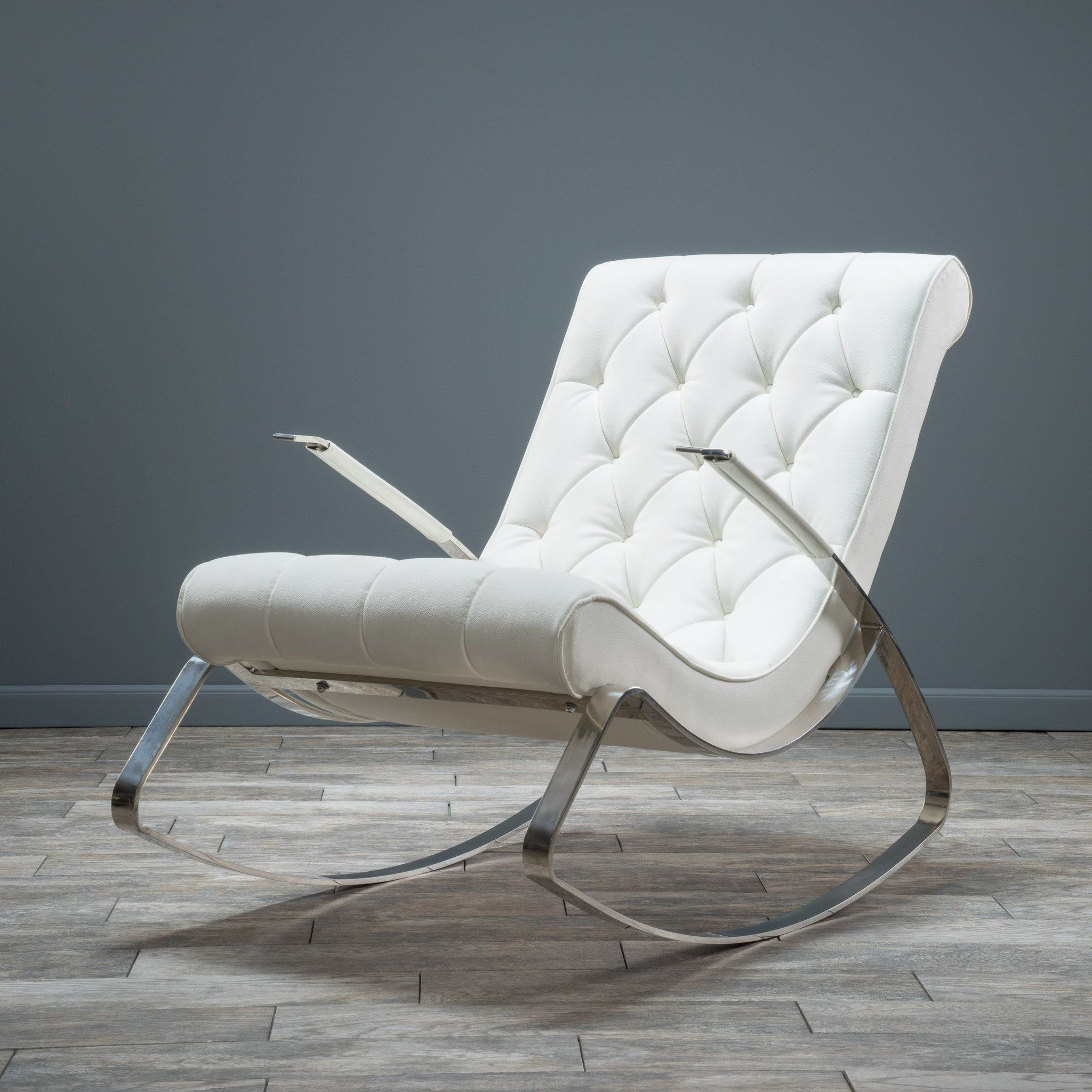 Barcelona-City Modern Design Rocking Lounge Chair