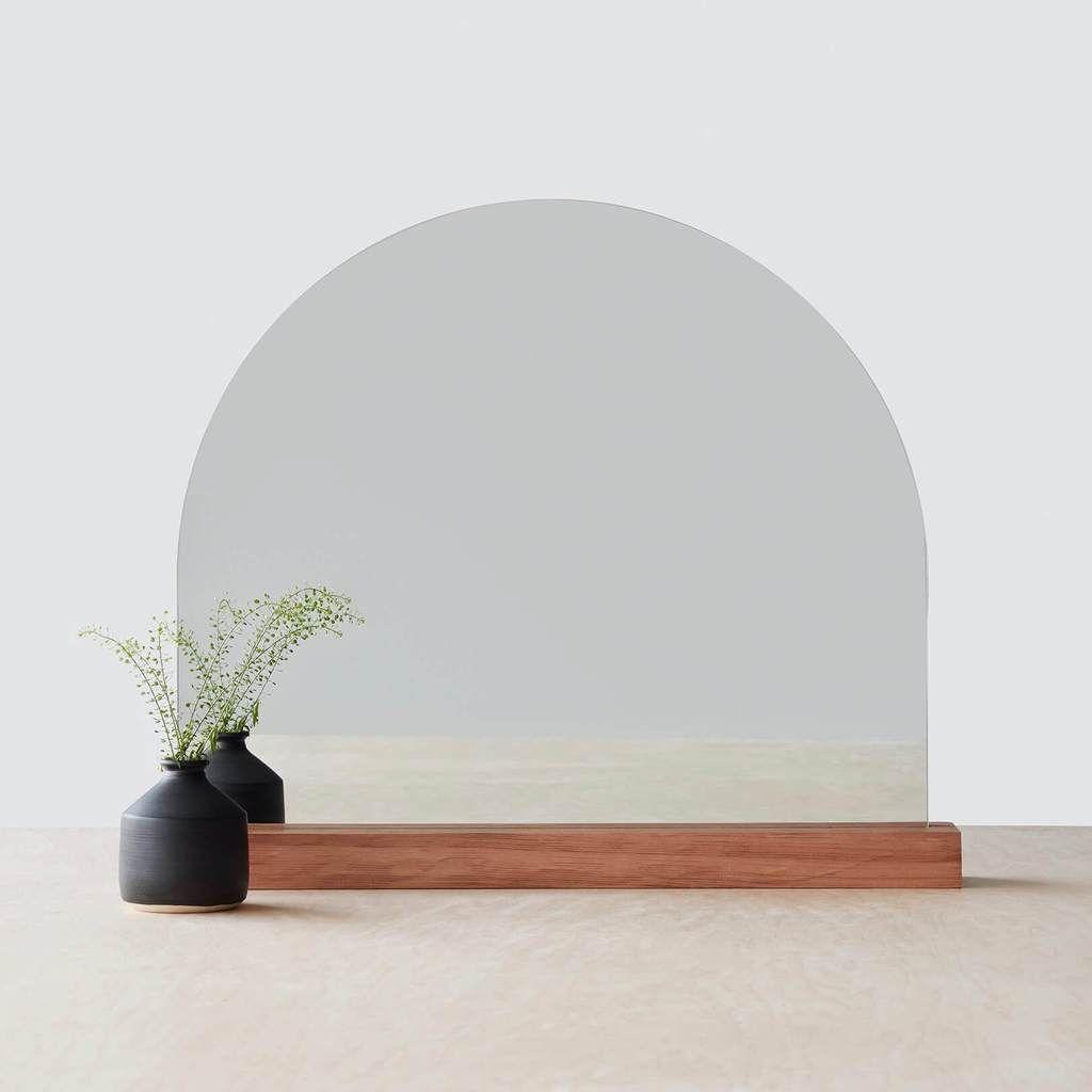 Arched Tabletop Mirror