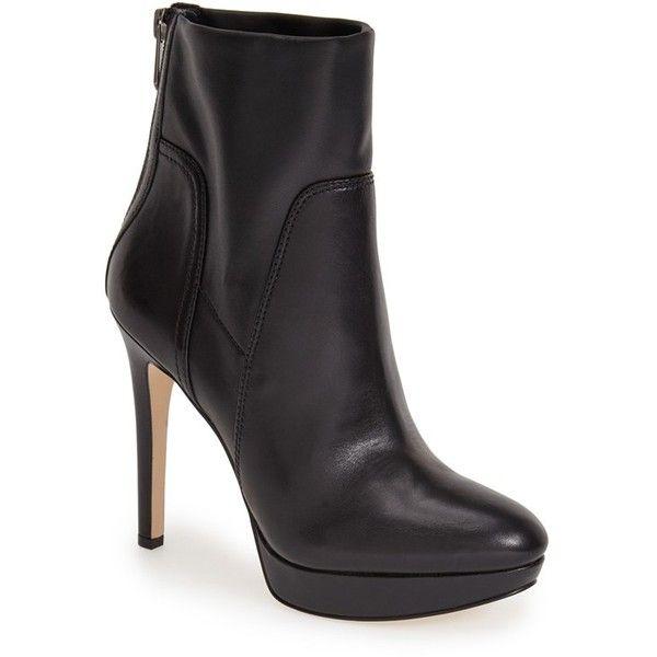 303efc340ffa Leather Booties · Black Ankle Boots · Sam Edelman  Alyssa  Platform Bootie