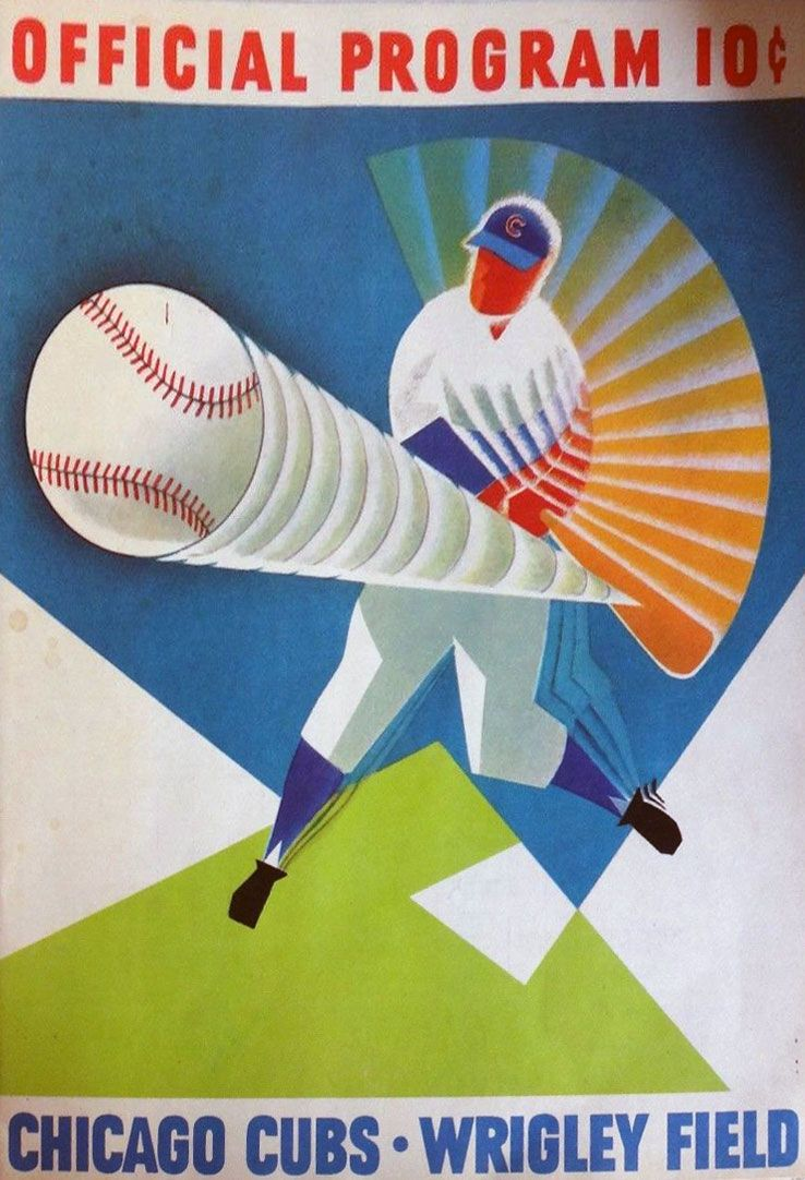 Image result for Chicago Cubs 1960 program
