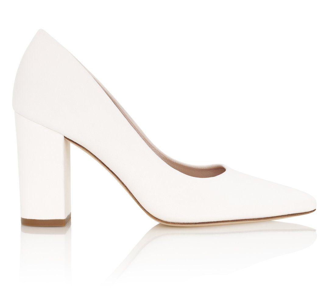 Josie Ivory | Comfortable block heels