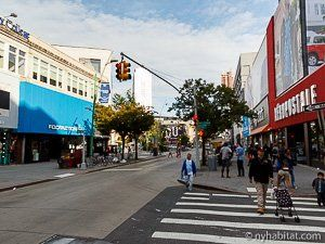 Downtown Brooklyn In New York Is A Great Place For Shopping New York Great Places Street View