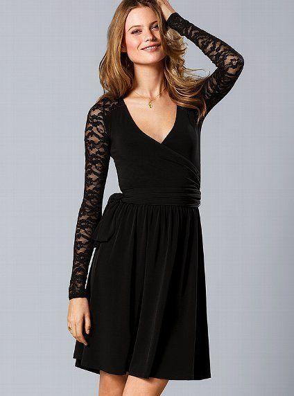 Victoria's Secret Lace Inset Surplice...  Victoria's Secret  $63.60