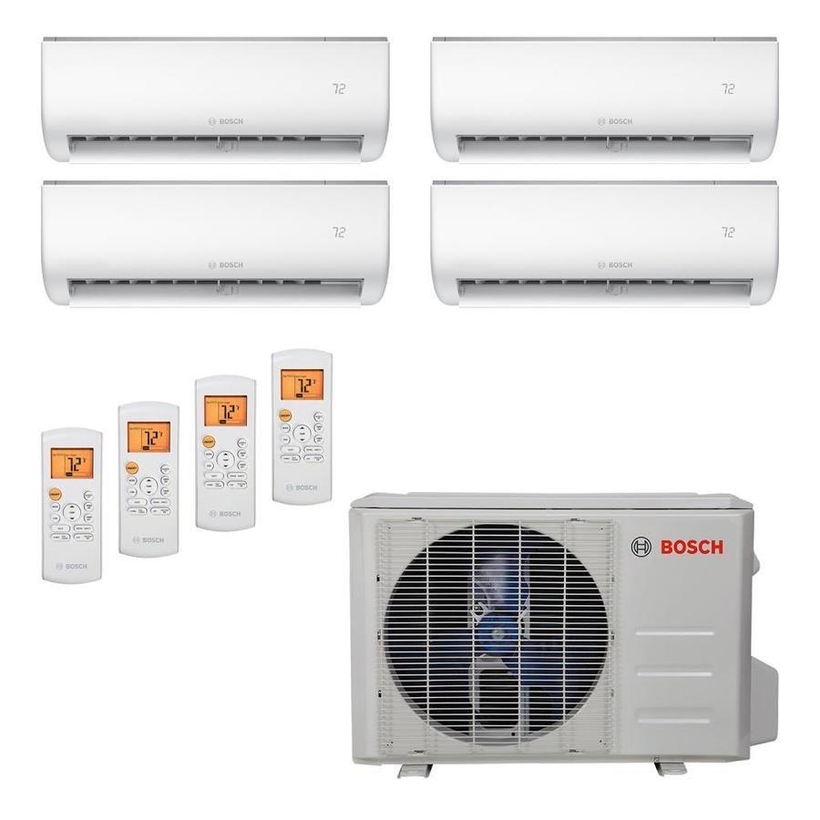 Bosch Bosch High Efficiency Ultra Quiet Mini Split Air Conditioner Cooling System 36k Btu 2 In 2020 Air Conditioner With Heater Ductless Mini Split Ductless