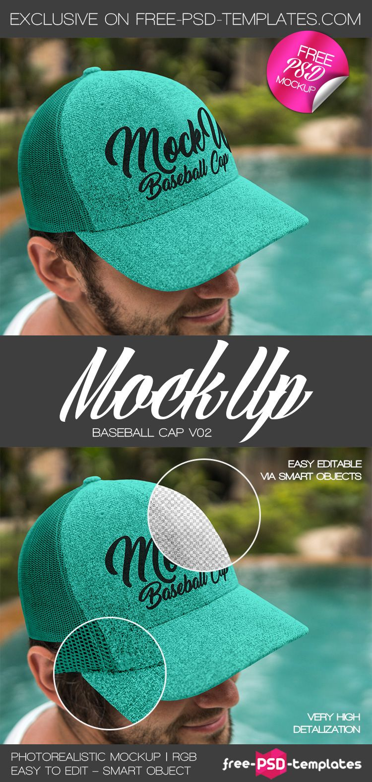 Download Enjoy A Fun Day With This Baseball Cap Mockup Psd Template If You Re Looking For A Fantastic Baseball Cap Mockup T Psd Template Free Mockup Psd Psd Templates