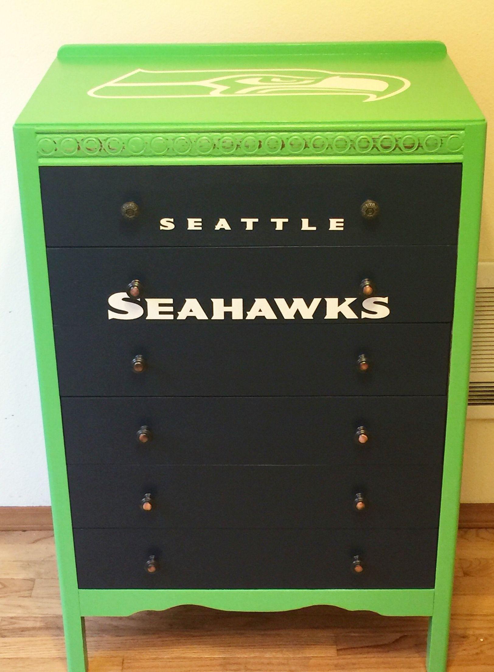Custom Seahawks Dresser Seattle Seahawks